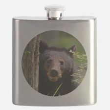 Cute Face Flask
