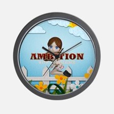 Ambition With A Conscience Wall Clock