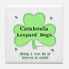 Catahoula Heaven Tile Coaster