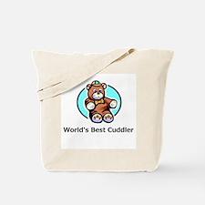 World's Greatest Cuddler Tote Bag