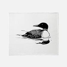 Common Loon Throw Blanket