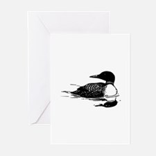 Common Loon Greeting Cards