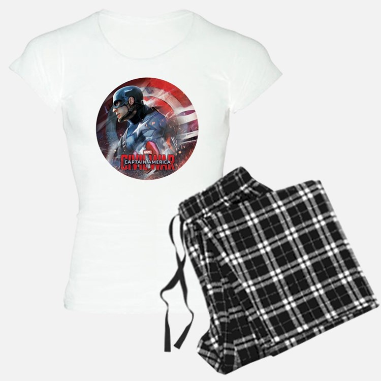 Captain America in Shield Pajamas