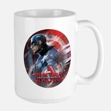 Captain America in Shield Mug