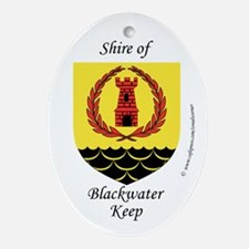 Blackwater Keep Oval Ornament