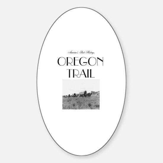 ABH Oregon National Historic Trail Sticker (Oval)