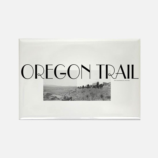 ABH Oregon National Historic Trai Rectangle Magnet