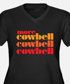 More Cowbell Plus Size T-Shirt