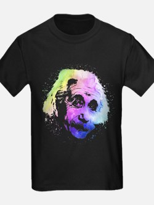Einstein Quantum Watercolor T-Shirt
