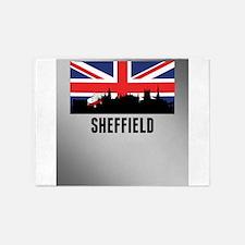 Sheffield British Flag 5'x7'Area Rug