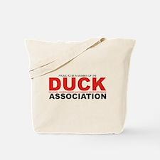 DUCK: Knifethrowing Associati Tote Bag
