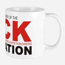 DUCK: Knifethrowing Associati Mug