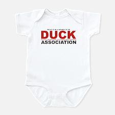 DUCK: Knifethrowing Associati Infant Bodysuit