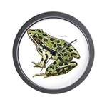 Leopard Frog Wall Clock