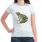 Leopard Frog Jr. Ringer T-shirt