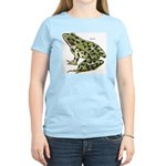 Leopard Frog Women's Pink T-Shirt