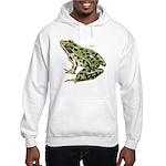 Leopard Frog Hooded Sweatshirt
