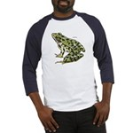 Leopard Frog (Front) Baseball Jersey