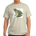 Leopard Frog Ash Grey T-Shirt
