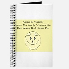 Be a Guinea Pig Journal