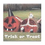 Halloween Hay Tile Coaster