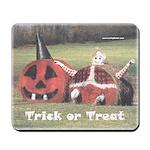 Halloween Hay Mousepad