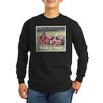 Halloween Hay Long Sleeve Dark T-Shirt