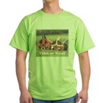 Halloween Hay Green T-Shirt