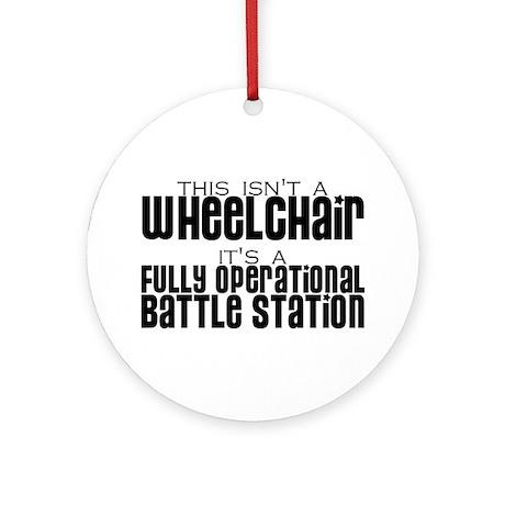 Operational Battle Station Ornament (Round)