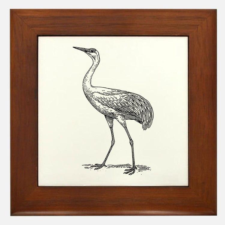 Crane Framed Tile
