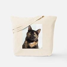 Tortie Cat Tote Bag