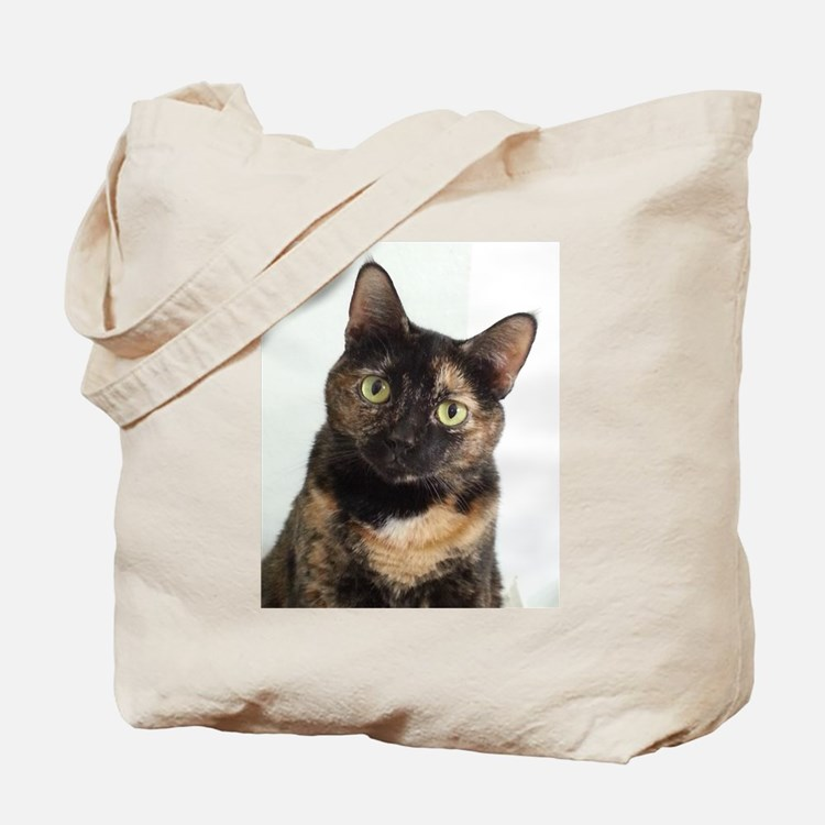 Tortie Cat Tote Bag