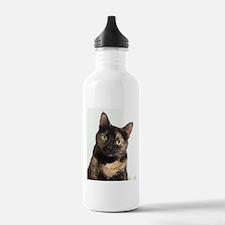 Tortie Cat Water Bottle
