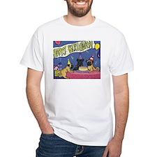 Happy Birthday Pugs Shirt