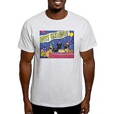 Happy Birthday Pugs T-Shirt