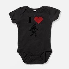 Cute Sasquatch kids Baby Bodysuit