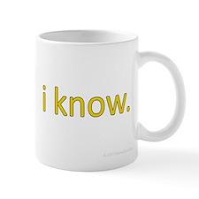 i know Small Mug