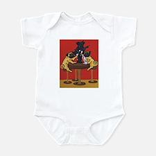 Party Pugs Infant Bodysuit