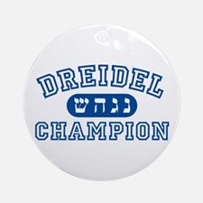 Dreidel Champion Ornament (Round)