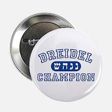 "Dreidel Champion 2.25"" Button (10 pack)"