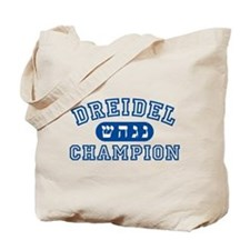 Dreidel Champion Tote Bag