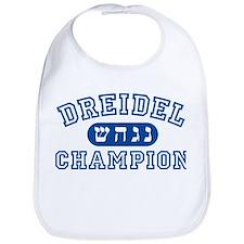 Dreidel Champion Bib