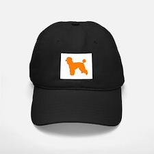 Poodle Orange 1C Baseball Hat
