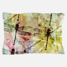 Artistic dragonflies Pillow Case