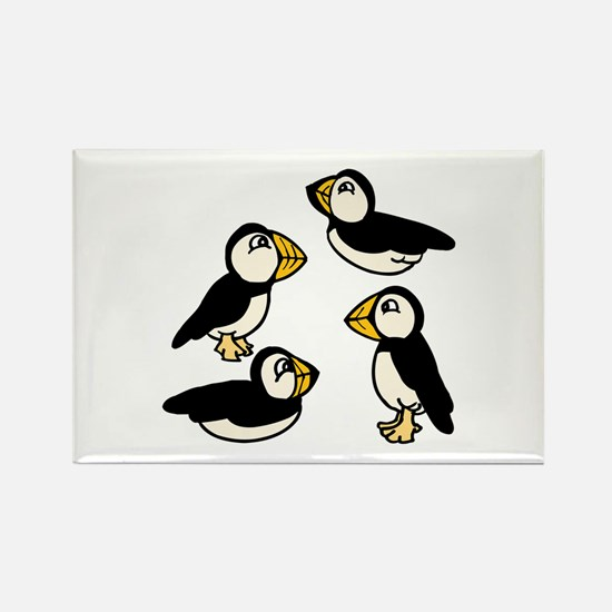 Puffins Magnets