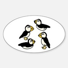Puffins Decal
