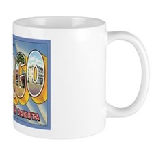 Fargo ND Poscard Mug