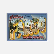 Fargo ND Poscard Rectangle Magnet