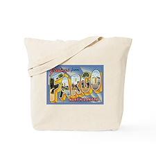 Fargo ND Poscard Tote Bag