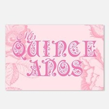 Fancy Lettering Quinceanera Postcards (Package of